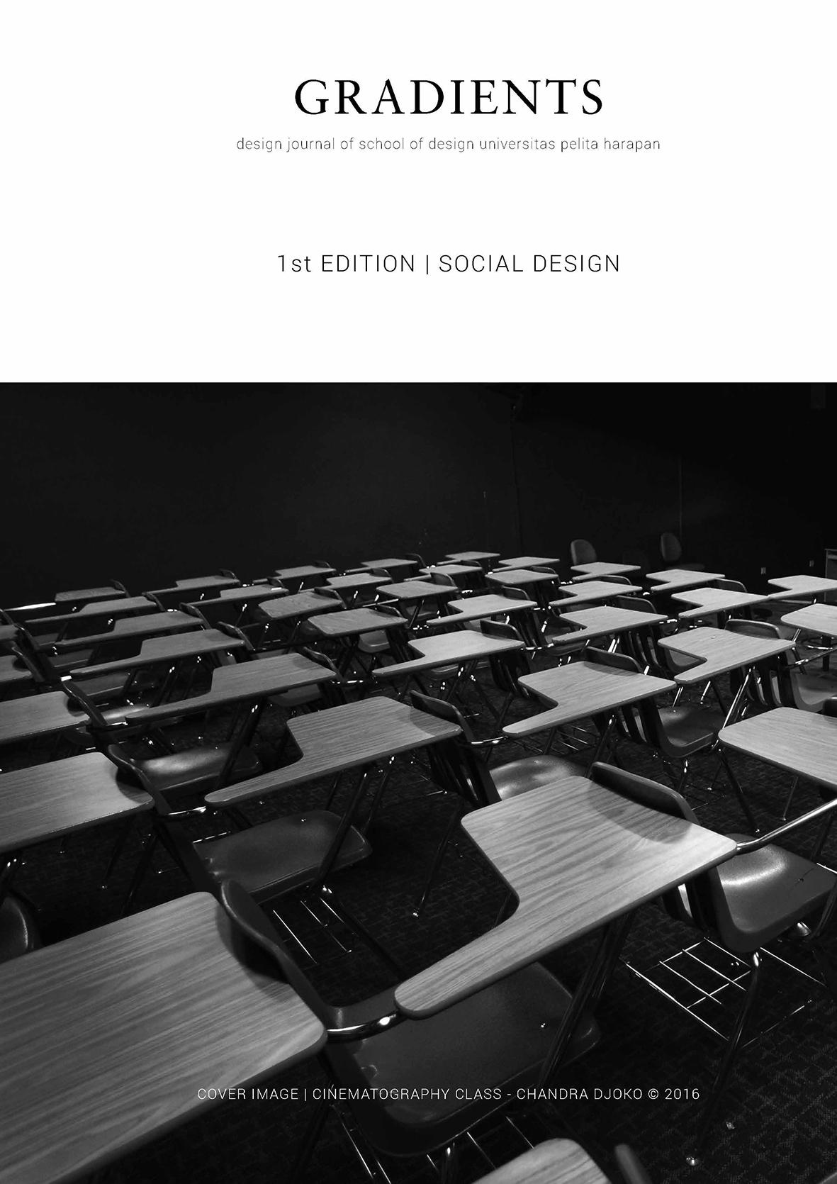 gradients: design journal of school of design universitas pelita harapan