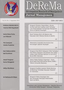 Cover image of DeReMa Jurnal Manajemen